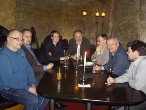 Diskuzně-společenský večer v restaurantu Peklo, Praha 1 - Strahov