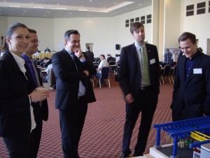 Návštěva pan Mag. Ch. Millera, Obchodního rady z Rakouského velvyslanectví